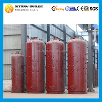 Vertical water tube small biomass steam boiler, 500kg wood fired steam boiler