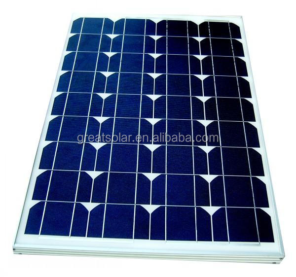 Big size 60 watts mono solar panel with low price mainly OEM/ODM to Afghanistan,Pakistan,Nigeria,Israel etc...