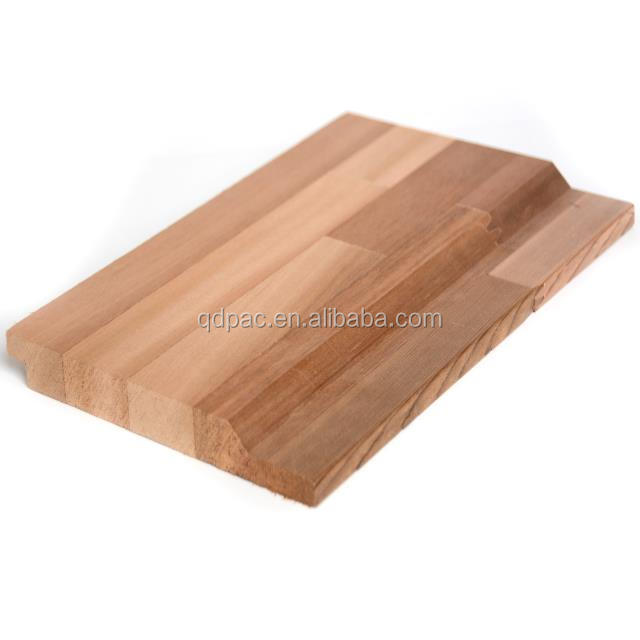 Western red cedar T&G finger jointed edge glued boards/ siding for wall decoration
