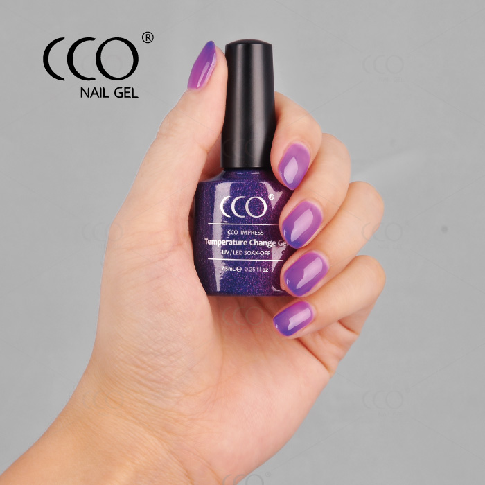 CCO color changing nail polish amazing step by step nail art designs temperature change nail polish