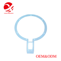 Factory custom size and shape silicone rubber seal o rings