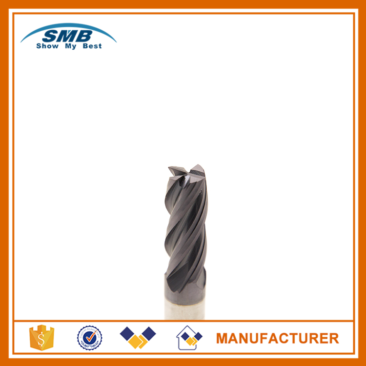 Tungaten carbide end mill cnc milling cutter