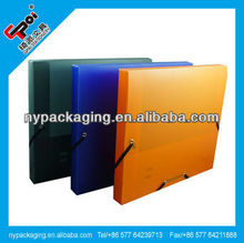 plastic waterproof document box/file box /file holder