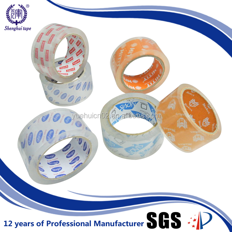 Tape Dispenser Individual Packaging Super Clear Bopp Adhesive Tape