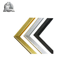 satin brushed aluminum extrusion profile for picture and photo frame