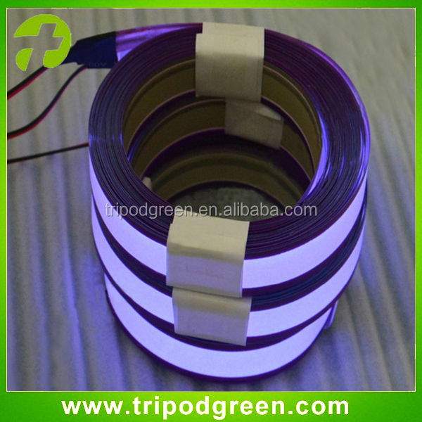 Cuttable Flexible EL Tape Light with Good Quality/Purple EL Tape