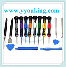 High Quality 16 in 1 mobile SCREEN REPAIR TOOL KIT FOR IPHONE Samsung