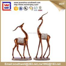 polyresin indoor deer statue and resin crafts decorative home decor and resin deer statues