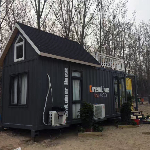 CE Certified 20ft prefabricated container home ecofriendly