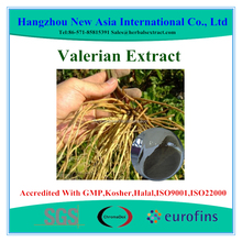 Valerienic Acid 0.8% HPLC Valerian Root Extract With Kosher Halal ISO22000 Certificate