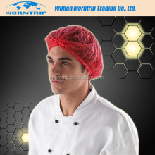 Food Industrial Disposable Nonwoven PP Fabric Clip Cap/Hair Net