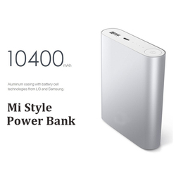High Cost Performance Xiaomi Design 4800mAh~10400mAh Portable Rechargebal Power Bank Station