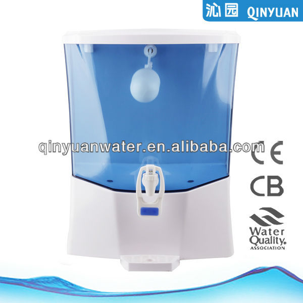 Qinyuan 4 stage counter top RO system water filter with pump