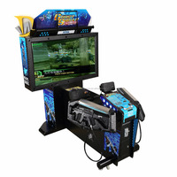 coin operated Operation Ghost squad arcade shooting game simulator machine