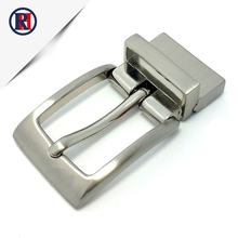 Wholesale china supplier design interlocking buckle reversible belt buckle for men