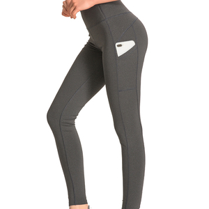 Wholesale women fitness yoga pants sportswear with pocket for yoga