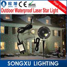 solid red green waterproof laser light,outdoor moving twinkle laser showers projector for garden decoration