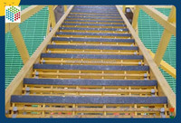 Safety and designable FRP Stair Tread