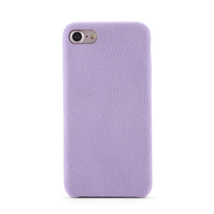 Shenzhen Devia delicate cloth leather for iphone 5 5s case in stock mobile back cover for iphone 7 phone case