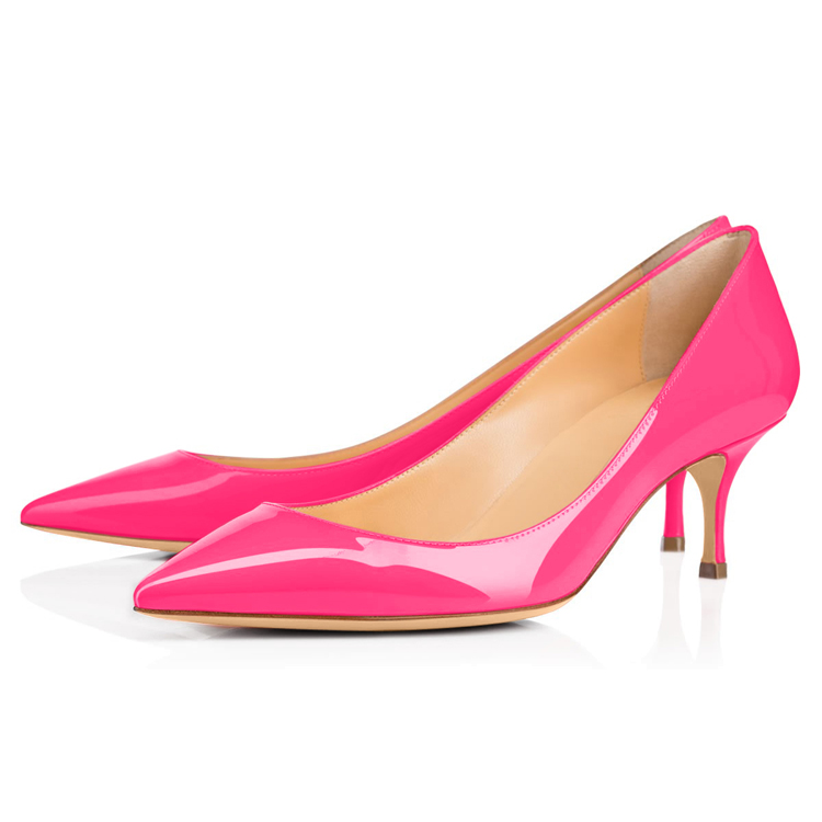 Top Quality classic high heel pump shoes With Bottom Price