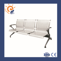 China Supplier Stainless Steel Hospital High Back Chair