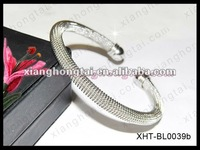 2012 new glitzy women style bracelet bangle/ top 316L stainless steel party jewelry