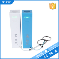 New arrive mini powerbanks 2600mah manual for power bank with led indicator