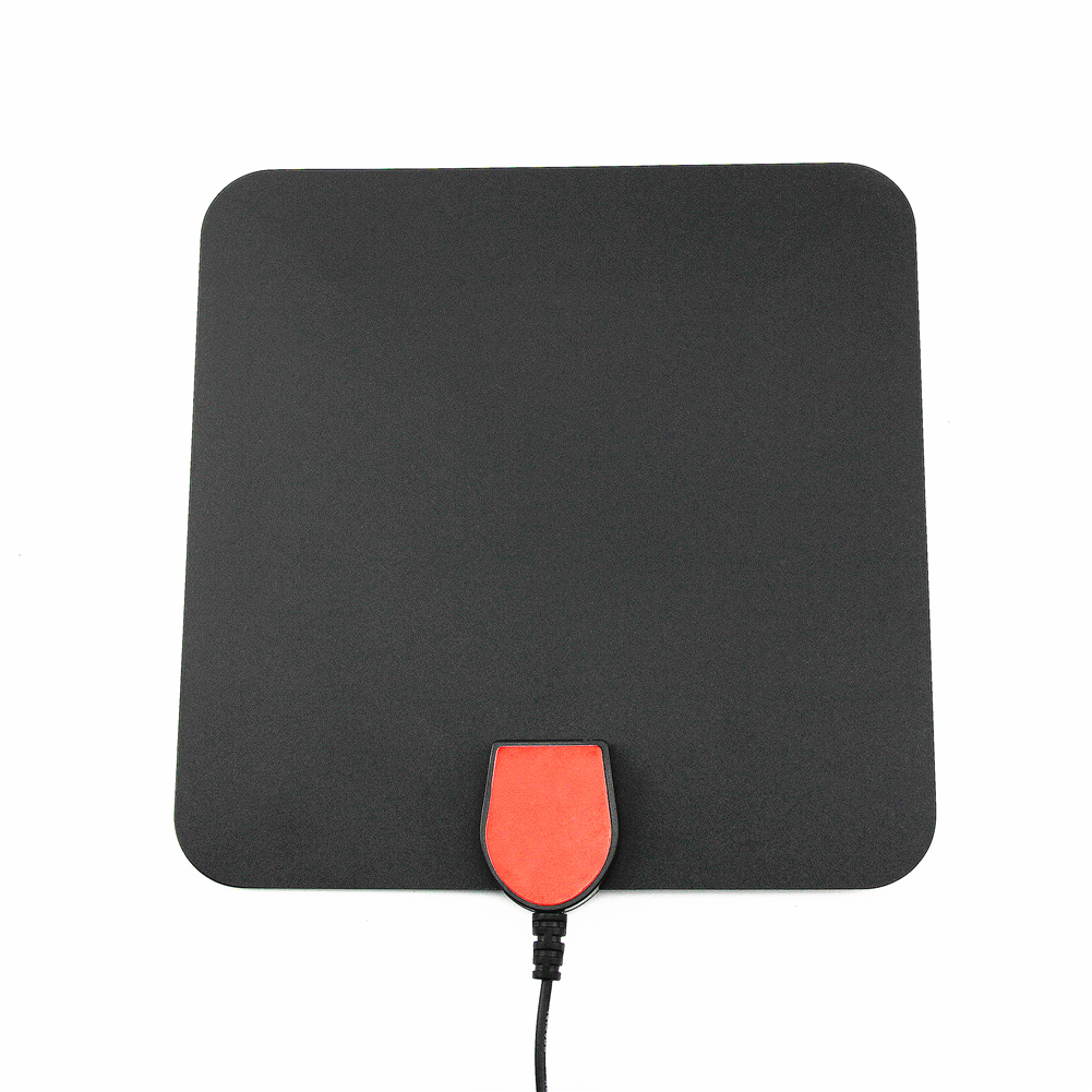 Indoor Digital TV Antenna Flat High Gain 35Miles RangeTV Antenna HD1080 Digital Indoor TV antenna