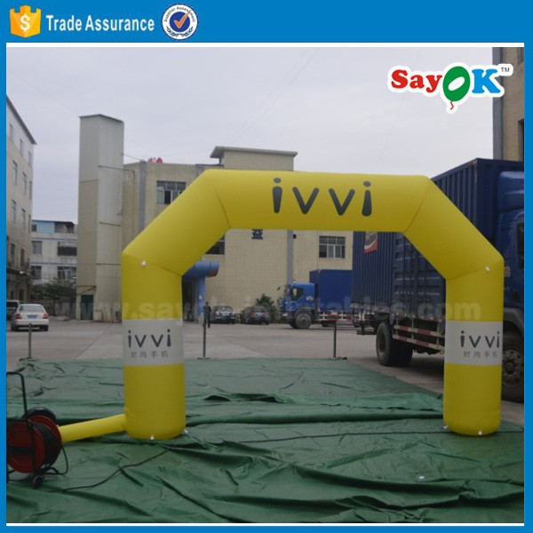 cheap hot customized inflatable finish line arch/inflatable advertising arch/inflatable arch rental