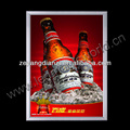 Advertising Light Box Snap Frame beer bottle led light box