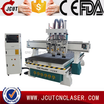 Jinan JCUT-1325S air cylinder tool change machine for woodworking engraving cutting and drilling for sale