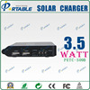 3000MAHPortable solar charger and flashlight With 4.5V/5.5V/9V Output