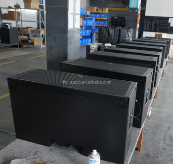 LA-25 double 10 inch 800 watts RMS passive line array speakers