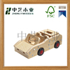 Wholesales in china cheap OEM eco-friendly handmade DIY wooden truck toys for kids