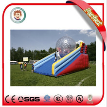2016 new arrival hot sale banzai inflatable water slide for kids and adults