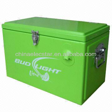 Retro style Cooler box /ice box refrigerator with Top Open Door ,Ideal for Home or Outdoor Use