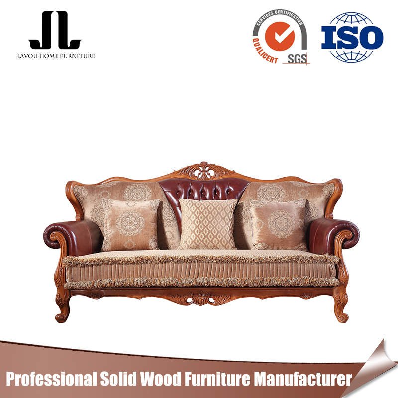 Hot sale & high quality Living Room Sofa Set luxury classic fabric sofa China wholesale leather sofa