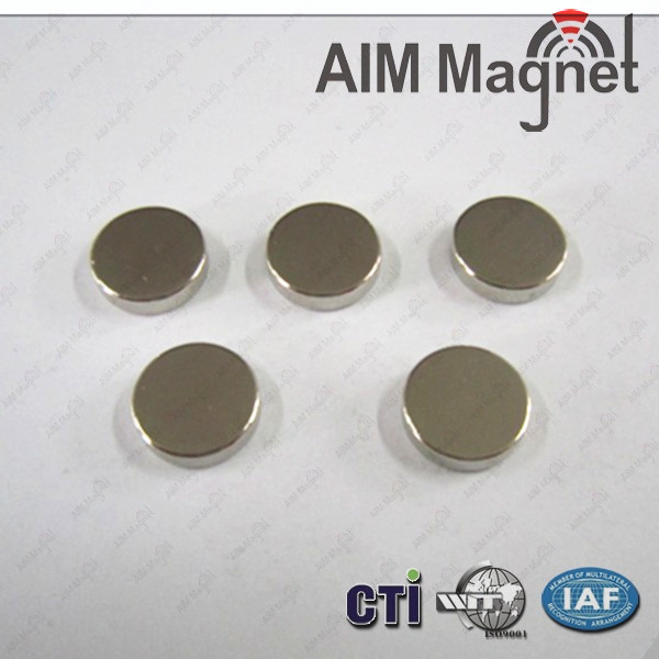 Round Permanent Neodymium Magnet D10x5mm Magnetice Strong