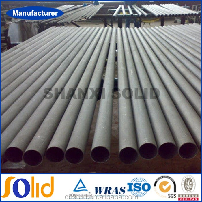 Schedule 10 , 80 ,160 Industrial Stainless Steel Seamless Mechanical Tube
