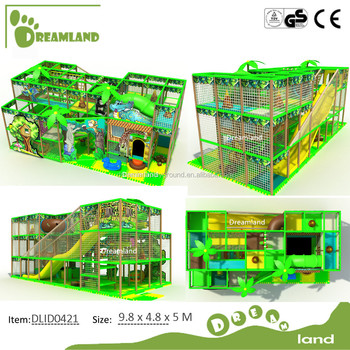 EU standard soft foam toddler indoor playgrounds