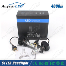 Anycarled S1 H4 HB2 auto motorcycle car LED Headlight Conversion Kit