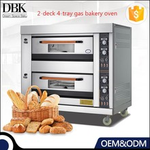 OEM ODM Baking Equipment Commercial double deck cake bread baking gas deck oven