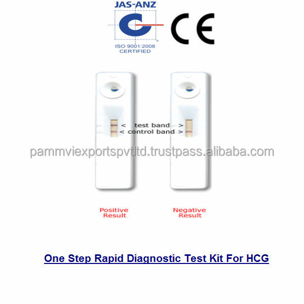 One Step Rapid Diagnostic Test Kit For HCG CE Approved