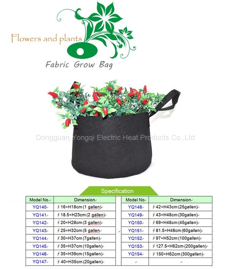 5 Gallon Felt Grow Bag For Garden