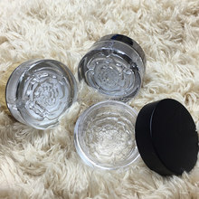 5ml flower cheap plastic jar for acrylic powder