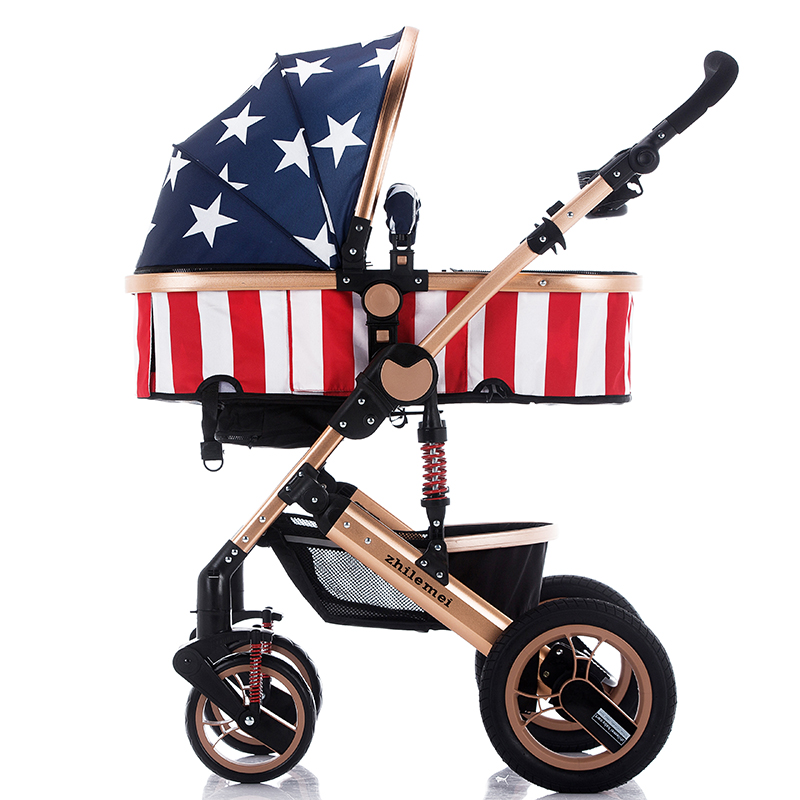 Exported to Russia market folding baby stroller/foldbale baby stroller pram/baby stroller carriage,buggy for sale