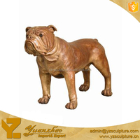 life size indoor polyresin fu dog sculpture for home decoration