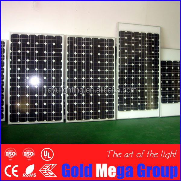 100W to 300w sunpower mono solar panel in China with full certificate for Marine Boats Yachts Golf carts manufacturers in China