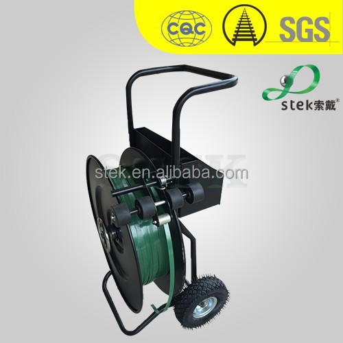 strap Trolley, steel strap Dispenser, cheap, good quality