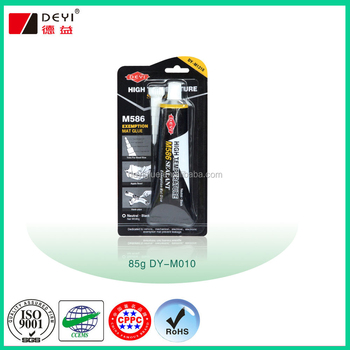 Oil Resistance RTV High Temperature silicone adhesive glue